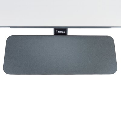 6 H x 24 W Desk Keyboard Tray Finish: Black