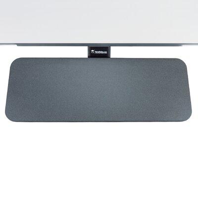 6 H x 24 W Desk Keyboard Tray Finish: Black