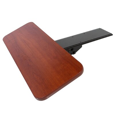 6 H x 24 W Desk Keyboard Tray Finish: Cherry