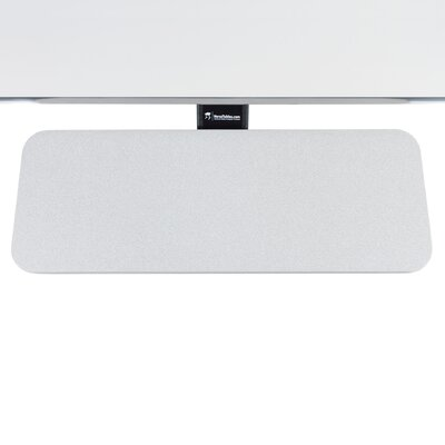 6 H x 24 W Desk Keyboard Tray Finish: Gray