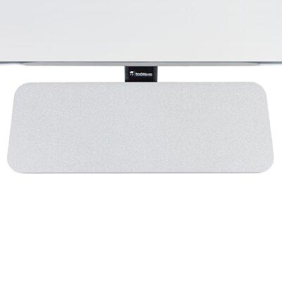 6 H x 24 W Desk Keyboard Tray Finish: Gray