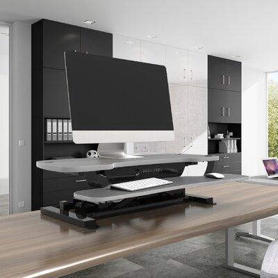 PowerPro 20 H x 30 W Standing Desk Conversion Unit Finish: Gray