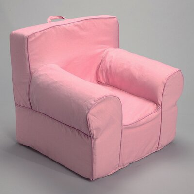 Kids Arm Chair Slipcover (Set of 5) Color: Pink