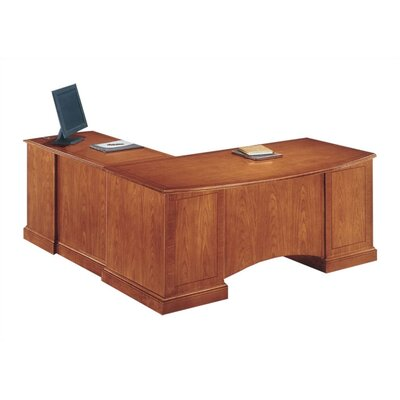 Belmont 72 Executive Desk Finish: Executive Cherry, Orientation: Right Product Picture 283