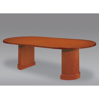 Belmont Racetrack 8 Oval Conference Table Finish: Executive Cherry