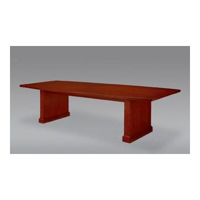 Belmont Boat shaped Conference Table Finish: Executive Cherry, Size: 12' L Product Picture 283
