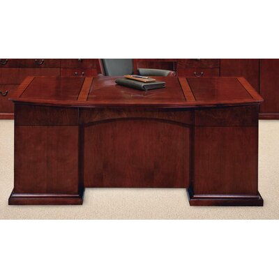 Del Mar Bow Front Executive Desk Product Picture 283