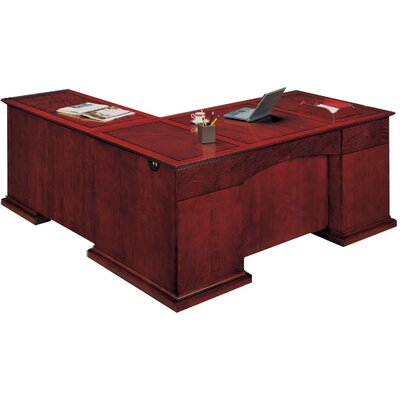 Del Mar L-Shape Executive Desk with Right Return Orientation: Right Product Image 6184