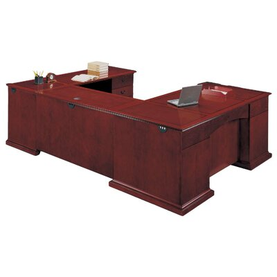 Del Mar Executive Desk with Right Return Orientation: Right Product Image 3919