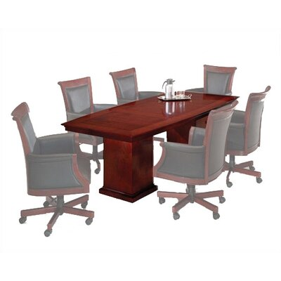 Del Mar 8 Boat Shaped Conference Table