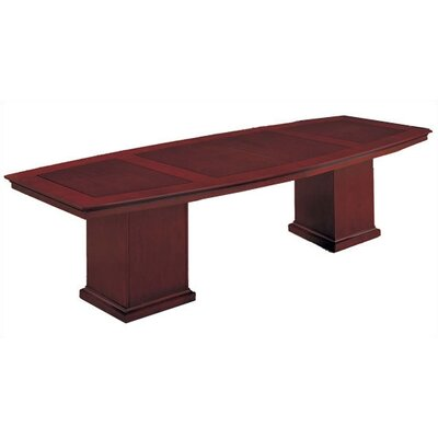 Del Mar 10 Boat Shaped Conference Table