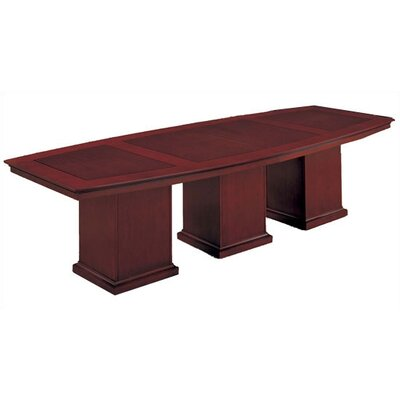 Del Mar Boat shaped 30H x 48W x 144L Conference Table
