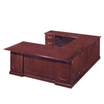 U Shape Executive Desk Orientation Product Photo