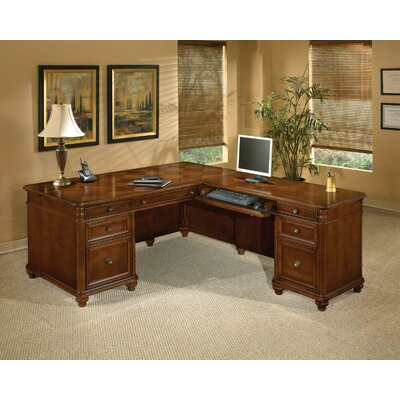 Antigua L-Shape Executive Desk Orientation: Right