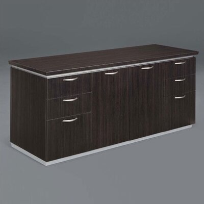 Pimlico Sideboard Color: Mocha Laminate