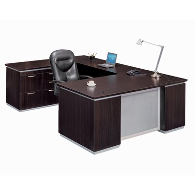 Personal File U Shape Executive Desk Product Picture 329