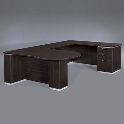 Right Peninsula U Shape Peninsula Executive Desk Product Picture 616