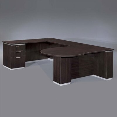 Left Peninsula U Shape Executive Desk Product Picture 620