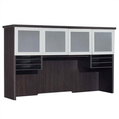 Pimlico 42 H x 72 W Desk Hutch Finish: Mocha Laminate