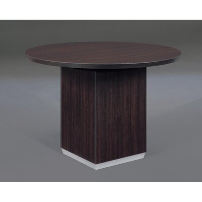 Pimilico Circular 30H x 42W x 42L Conference Table Finish: Mocha Laminate