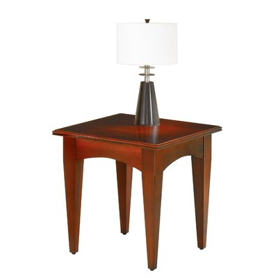 Belmont 24 End Table Color: Brown Cherry