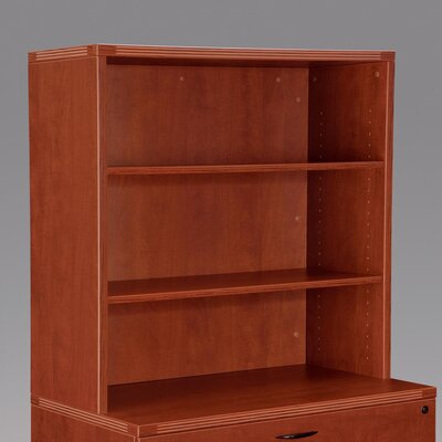 Fairplex 36 H x 35.5 W Desk Hutch Color: Cognac Cherry
