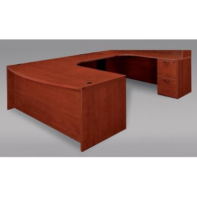 Fairplex Grommet Holes U-Shape Executive Desk