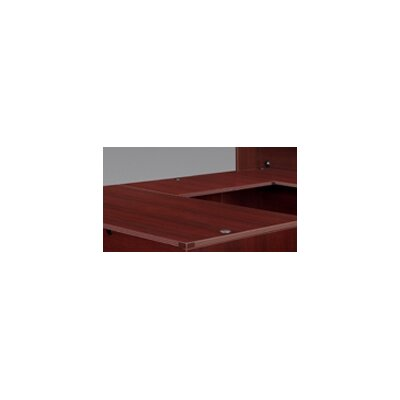 Fairplex 29 H Desk Bridge Finish: Mahogany, Size: 29 H x 42 W