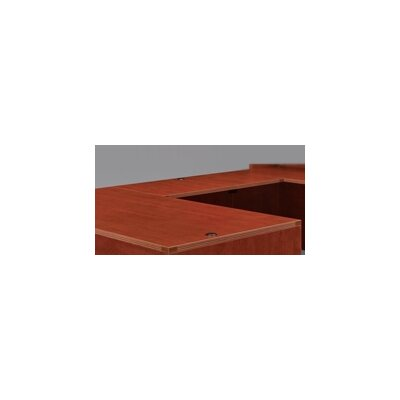 Fairplex 29 H Desk Bridge Finish: Cognac Cherry, Size: 29 H x 48 W