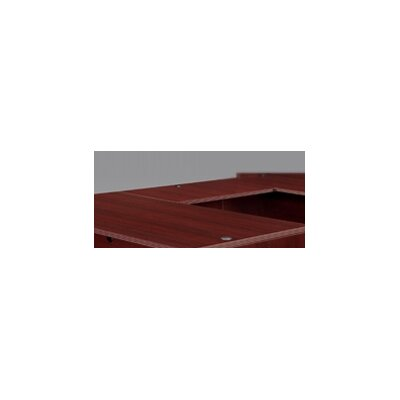 Fairplex 29 H Desk Bridge Finish: Mahogany, Size: 29 H x 48 W