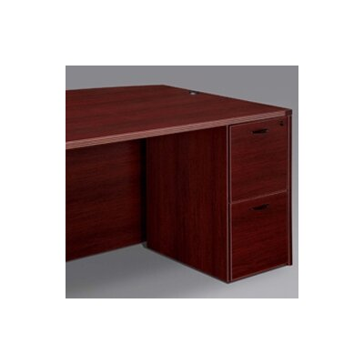 Fairplex 28 H x 15.5 W Desk File Pedestal Finish: Mahogany