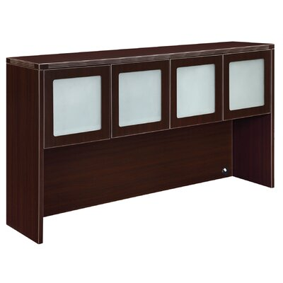 Fairplex 36 H x 66 W Desk Hutch Finish: Mocha