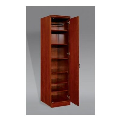 Belmont Right Hand Facing Single Door Standard Bookcase 834 Product Photo