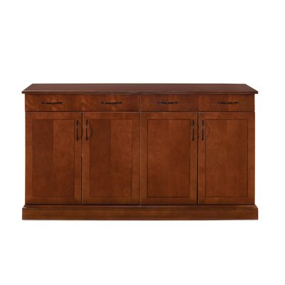 Belmont Sideboard Color: Brown Cherry