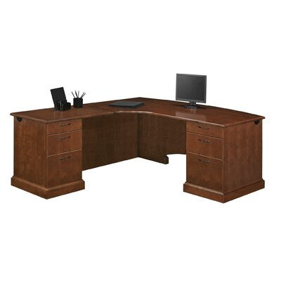 Belmont Drawers Shape Lexecutive Desk Orientation Product Photo 8041
