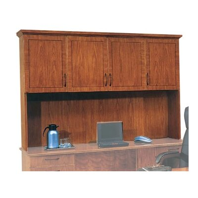 Belmont 50 H x 72 W Desk Hutch Finish: Executive Cherry, Return Molding: Yes