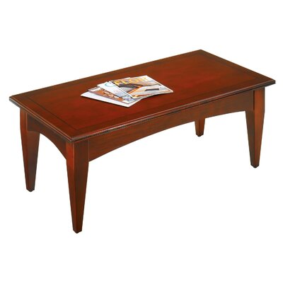 Belmont Coffee Table Finish: Brown Cherry