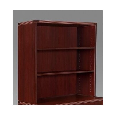 Fairplex 36 H x 35.5 W Desk Hutch Color: Mahogany