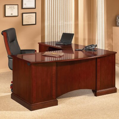 L Shape Executive Desk Belmont Product Photo 7062