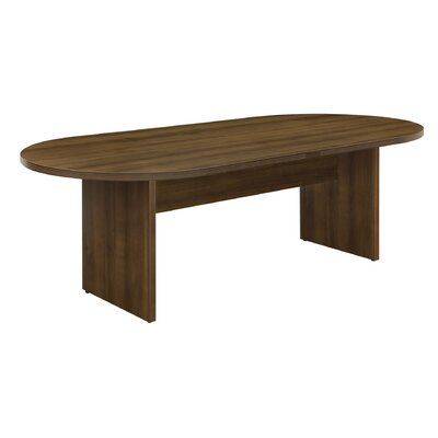 Fairplex Oval Conference Table Size: 42 W x 95 D