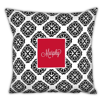 Marakesh Script Personalized Cotton Throw Pillow