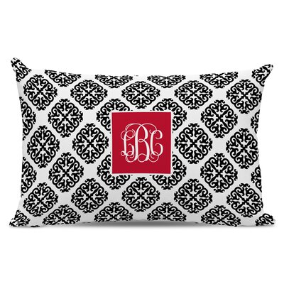 Marakesh Script Monogram Cotton Lumbar Pillow