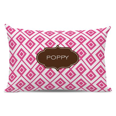 Lucy Block Personalized Cotton Lumbar Pillow