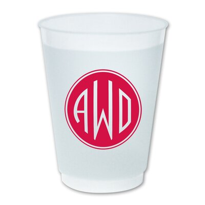16 oz. Cup Color: Raspberry WFC16DL002-+RB