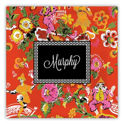 Chinois Script Fabric Coaster WFFC02-S-W