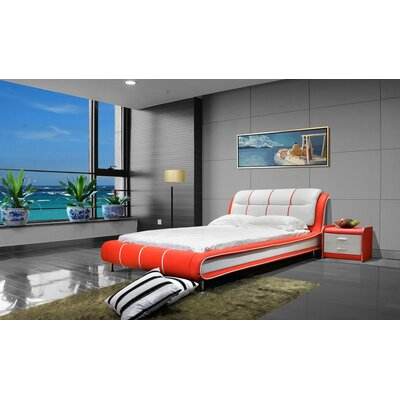 Upholstered Platform Customizable Bedroom Set