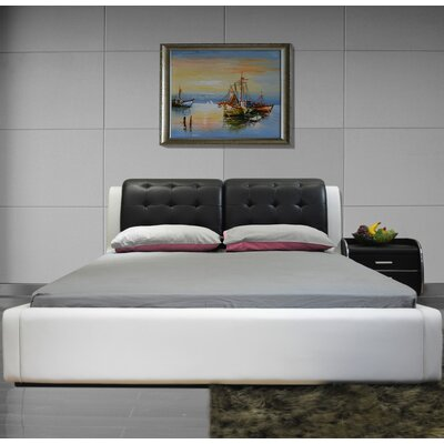 Greatime Upholstered Platform Bed Size: Eastern King