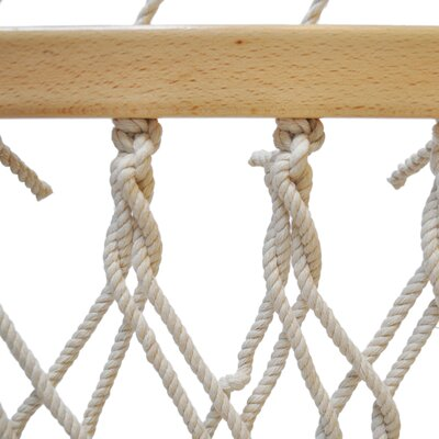 Rope Cotton Tree Hammock Size: 65 W