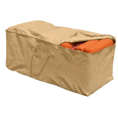 All-Seasons Cushion Storage Bag Color: Tan