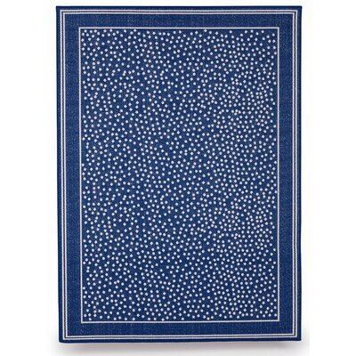 Twilight Royal Blue Indoor/Outdoor Area Rug Rug Size: 5 x 7